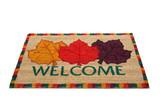 Welcome Doormat poster