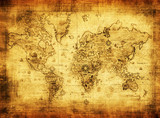 ancient map of the world