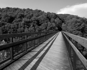 Foot Bridge B&W