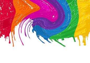 couleurs arc-en-ciel