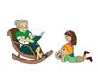 Grandma Telling Stories