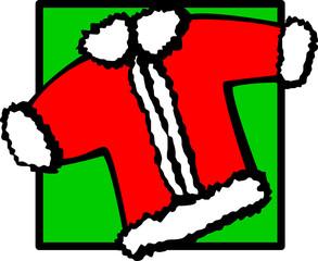 santa clause christmas coat
