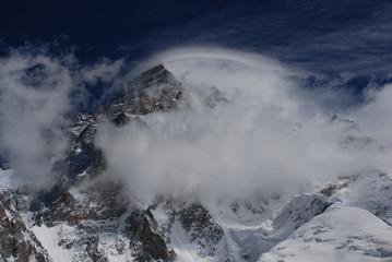 Wind on K2 II