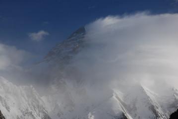 K2 in wind