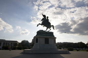 Erzherzog Karl Denkmal in Wien