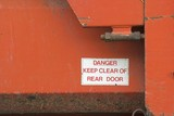Danger - Keep Clear poster