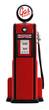 1950s gas pump