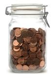 Jar of Pennies poster