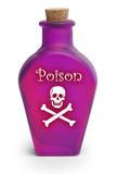 Poison on White poster