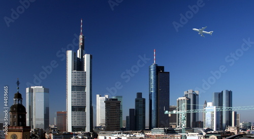 canvas print picture Frankfurt