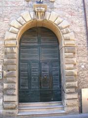Italienische Haustür