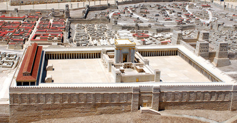Jerusalem, second temple model