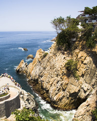Acapulco Cliff Diving Location