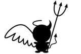 Čierny anjel Demon