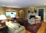 cozy furnished livingroom poster