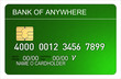 Credit card green