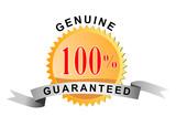 Seal 100% genuine guaranteed poster