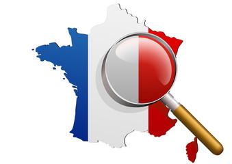 Analyse de la France bleu blanc rouge (général)