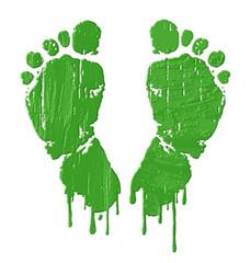 pieds verts