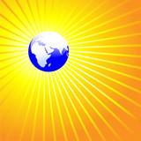 Shining World Earth EASTERN poster