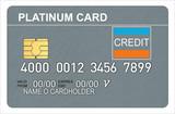 Credit card platinum poster