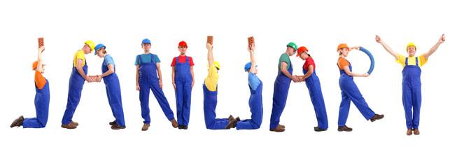 January staff