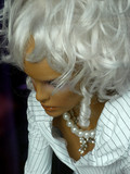white wig poster