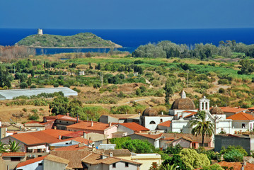 Sardinian town Pula