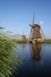 moulin en Hollande poster