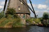 détail de moulin en Hollande poster