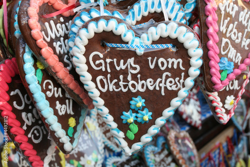 oktoberfest, lebkuchen - 4492812