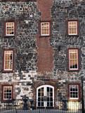 Historic Building Facade poster