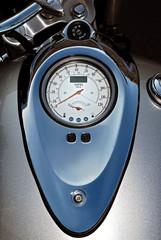 silver speedometer