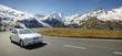 Leinwanddruck Bild - Alpen Drive