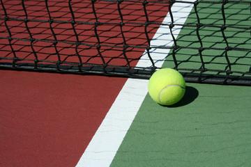 Tennis Ball inbounds
