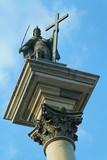 King Zygmunt's column upview - 4498475