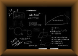 Blackboard Vector poster
