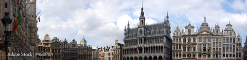 Panorama grand place Brussels