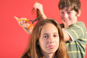 crazy hairdresser children