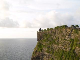 Cliff Mountain Sea Skyline