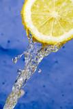 Refreshing lemon poster
