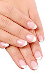 French manicure poster