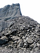 Coal mine isolated