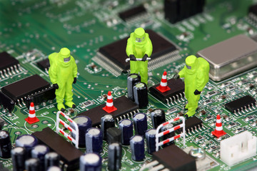 Electronics recycling concept