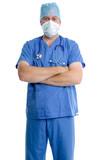 Surgeon portrait poster