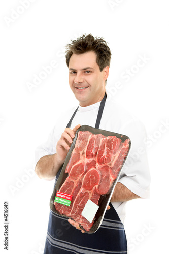 Smiling Butcher