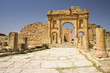 Arch leading to the temples of Sufetula, Tunisia