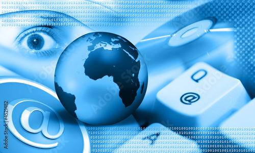 internet - blue earth