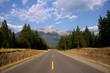 Scenic road in Canada