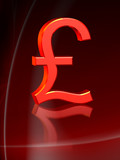 Red pound poster